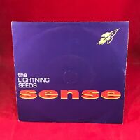 "LIGHTNING SEEDS Sense - 1992 UK 7"" vinyl single EXCELLENT CONDITION"