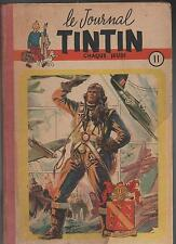 TINTIN reliure 11. n°171 à 187 - 1952.