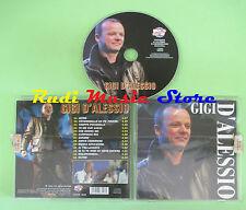 CD GIGI D'ALESSIO Omonimo Same 2005 italy DV MORE RECORD 6849 (Xi1) no lp mc dvd