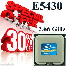 Intel® Xeon® Processor E5430 SLANU 12M Cache, 2.66 GHz, 1333 MHz FSB 80W
