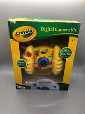 Genuine Crayola Children's Digital Camera Kit w/ Photos Editing Software