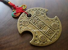 Feng Shui - 2017 Nanbu Wealth Lock Coin Amulet Tassel