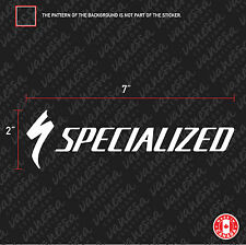 2X  SPECIALIZED bicycle mountain bike logo sticker vinyl decal