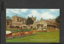 J Salmon  Colour Postcard Christ Church From the Memorial Gardens Oxford