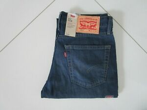 Men's Levi's 511 Slim Fit Seeped Indigo Stretch Jeans 041550460 Size: 31 x 34