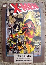 "Rare Marvel ""X-MEN FROM THE ASHES"" 1990 Graphic Novel"