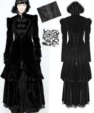 Manteau victorien gothique baroque velours collerette dentelle corset PunkRave