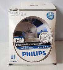 PHILIPS WhiteVision, H1 - Intensiver Xenon-Effekt Halogen Scheinwerfer Lampe