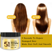 Magical Keratin Hair Treatment Mask 5 Seconds Repairs Damage Hair Root Hair 30ml