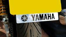 MT09 YAMAHA NUMBER PLATE EMBLEM BADGE MIRROR POLISHED STAINLESS STEEL