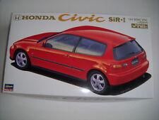 NEW HASEGAWA HONDA CIVIC SiR II 1/24 Scale PLASTIC MODEL KIT