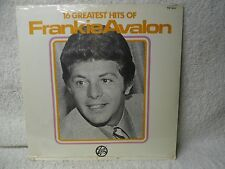 Frankie Avalon LP 16 Greatest Hits Sealed!! Sealed!! 1977 Trip Orig! Venus