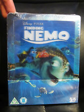 Finding Nemo Lenticular 3D Blu-Ray Steelbook [Uk] Region Free Disney Classic New
