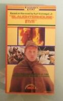 SLAUGHTERHOUSE FIVE  1982 MCA   VHS VIDEOTAPE