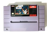 **Super Star Wars SUPER NINTENDO SNES Game Cartridge Tested & Working! AUTHENTIC
