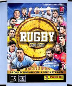 AGEN - STICKERS IMAGE VIGNETTE - PANINI - RUGBY 2018 / 2019 - a choisir