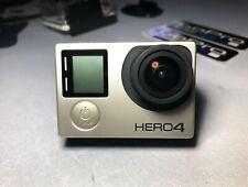 GOPRO Hero 4 Black Edition Come Nuovo + Accessories + Stickers