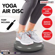 Powertrain Yoga Stability Disc Home Gym Pilate Balance Trainer Wobble Pad Grey