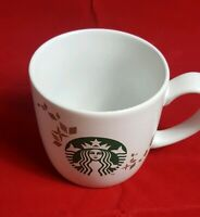 Starbucks Mug Coffee Cup Holiday Collection 2013 Mermaid Logo 14oz