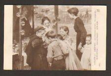 JEUX ENFANT / LES POISSONS ROUGES par J. GEOFFROY 1914