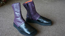AUTH HESTER VAN EEGHEN AMSTERDAM LIGHT WEIGHT LEATHER ANKLE BOOTS Sz 6