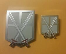 Attack On Titan Métal Stagiaires Squad Corps Broche Ensemble (2)