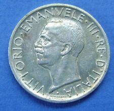 Italie, Victor Emmanuel III, 5 Lire 1928 - KM 67.1 *FERT*  Very Fine