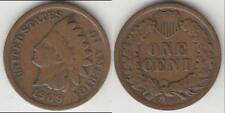 JUST REDUCED!! KEY DATE 1909-S INDIAN CENT VG+