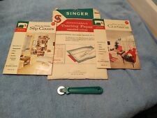 New listing Singer Sewing Library How To Make Curtains & Slip Covers 1960 Vtg 101 & 113 +