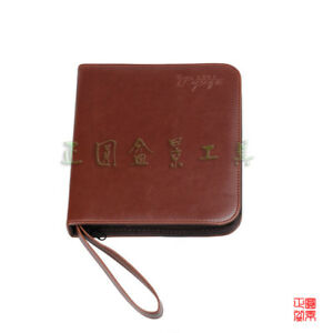 Japanese Bonsai Tools Roll Bag Synthetic Leather Bonsai Tool Kit Set Case Bag