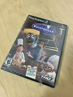 Ratatouille Disney Pixar New Factory Sealed Playstation 2 PS 2 Rare Game  Sony