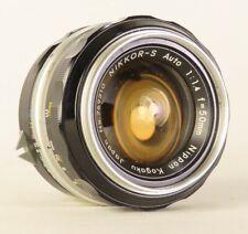 Nikon Nikkor 50 mm 1:1.4 Auto Lens  Manual Focus Both Lens Caps