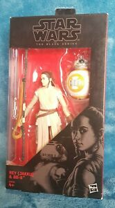 Hasbro star Wars Black Series 6in Rey And BB8 No 2