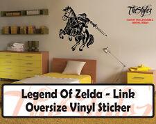 Legend of Zelda - Link Oversize Vinyl Wall Sticker