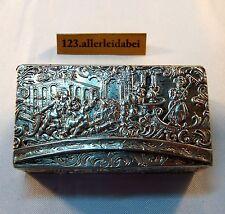 alte Tabatiere Pillendose Silber Dose Behälter kleine Tabakdose box / AZ 100