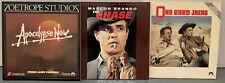 3 Marlon Brando Laserdiscs Apocalypse Now The Chase One Eyed Jacks War Westerns