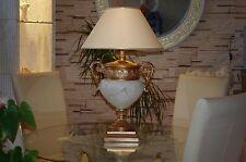Tischlampe Antike Römische Schreibtischlampe Pokallampe Vasenlampe Creme-Gold