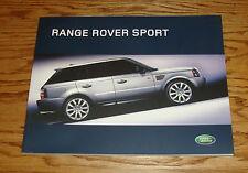 Original 2006 Land Rover Range Rover Sport Deluxe Sales Brochure 06