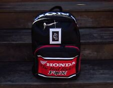 Mid 1990's HONDA MOTOCROSS FOX RED RIDERS NEW BACK PACK CR125R CR250R CR500R