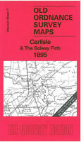 Old Ordnance Survey Map Carlisle & The Solway Firth 1895 - England Sheet 17