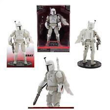 Star Wars Boba Fett White Prototype Armor Disney Store Elite Series Die-Cast
