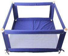 TikkTokk Pokano Fabric Playpen/Mat (Square, Blue)