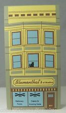 Cat's Meow Village Collectible Blumenthal's Stationery Elm Street Series 1994