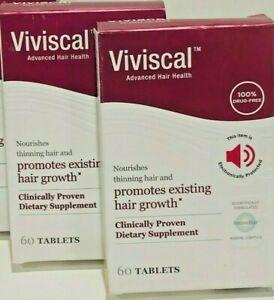 VIVISCAL WOMAN ADVANCED HAIR HEALTH 2X  60 TABLETS =120 TOTAL EXPIRATION 2023
