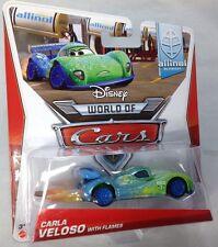 2013-14 Disney Pixar Cars 2: CARLA VELOSO (with Flames) - Allinol Blowout (#1/9)