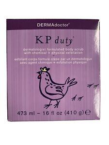 DERMAdoctor KP Duty Dermatologist Formulated Body Scrub 16oz