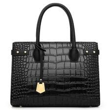 Women's Leather Crocodile Handbag Sling Satchel Tote CrossBody Bag Shoulder Bags