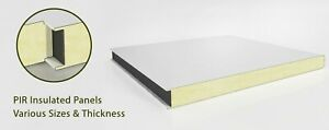 Cold Room Panels,1000 Width- 2000mm Length-80 mm Thickness Flat Insulated Panels