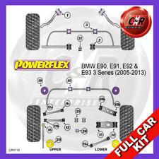 BMW E90 3 Series Diesel (05-13) Rear Subframe Inserts Powerflex Full Bush Kit