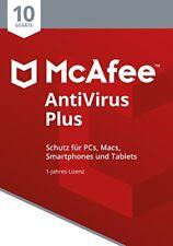 McAfee Antivirus plus 10 Device (code In A Box) Stück